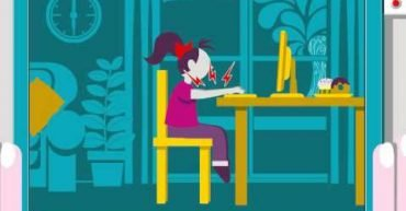 Ergonomic Use of Laptop at home or at work